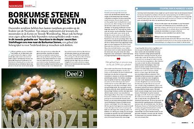 Cor Kuyvenhoven Publicaties - Duiken Magazine_Noordzee Borkumse stenen